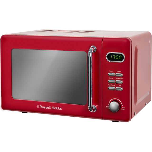 Russell Hobbs RHRETMD706R 17 Litre Microwave - Red Best Price, Cheapest Prices