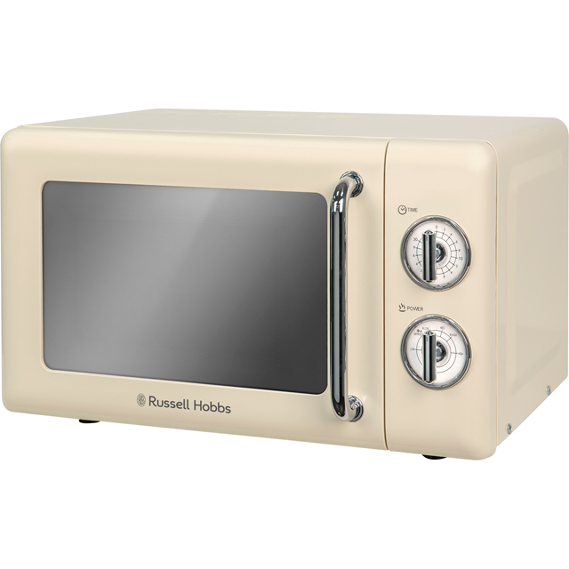 Russell Hobbs Microwaves RHRETMM705C Free Standing Microwave Oven in Cream