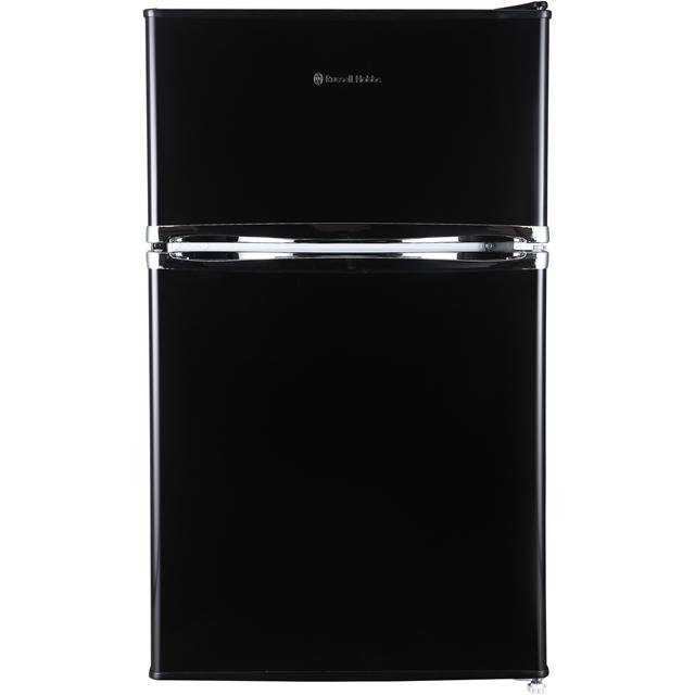 Russell Hobbs MDA RHUCFF50B Free Standing Fridge Freezer in Black