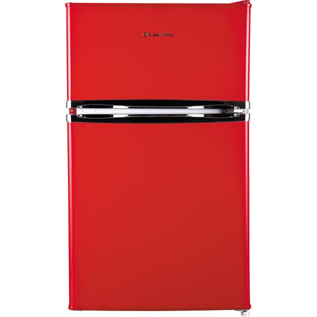 Russell Hobbs RHUCFF50R Under Counter Fridge Freezer - Red