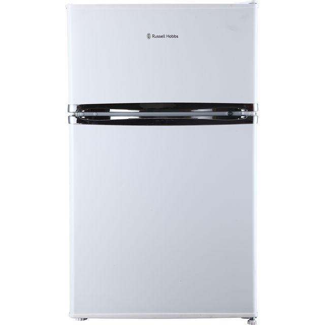 Russell Hobbs MDA RHUCFF50W Free Standing Fridge Freezer in White