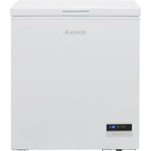 Lec CF150LMk2 Chest Freezer - White - F Rated