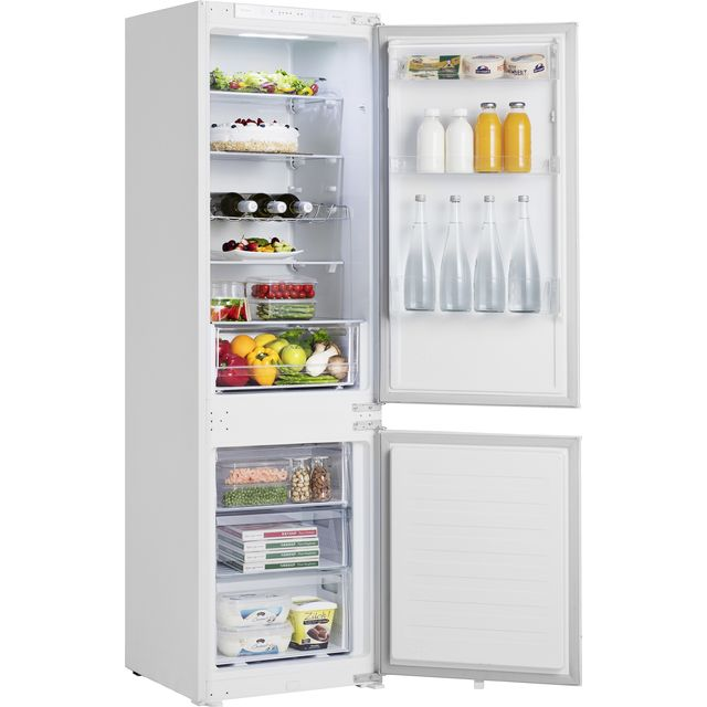 Hisense RIB312F4AWF Integrated 70/30 Fridge Freezer with Sliding Door Fixing Kit - White - F Rated - RIB312F4AWF_WH - 1