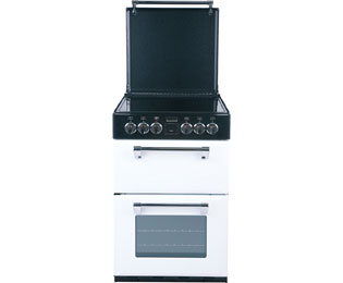 Stoves Mini Range Electric Cooker with Ceramic Hob - Coconut - A Rated