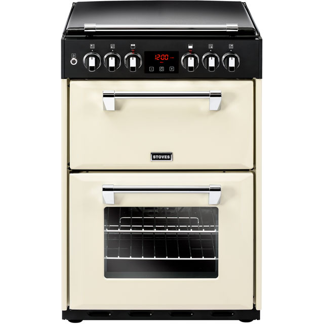 Stoves Dual Fuel Cooker - Cream - A/A Rated