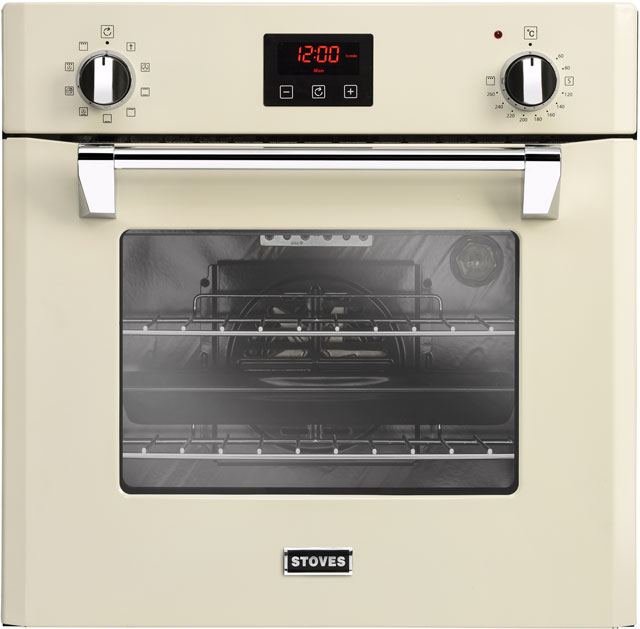 Stoves Richmond600MF Built In Electric Single Oven - Cream - A Rated - Richmond600MF_CR - 1