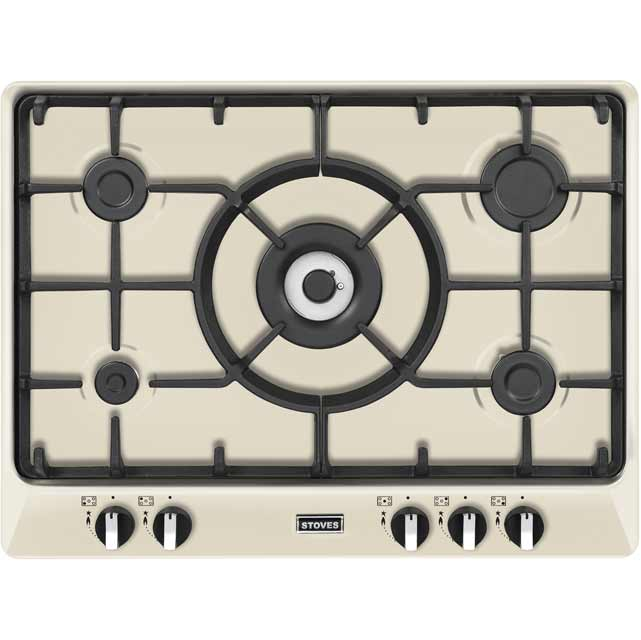 Stoves Richmond700GH 68cm Gas Hob - Cream - Richmond700GH_CR - 1