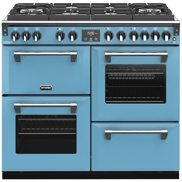 Stoves Colour Boutique Collection 100cm Dual Fuel Range Cooker - Days Break - A/A/A Rated