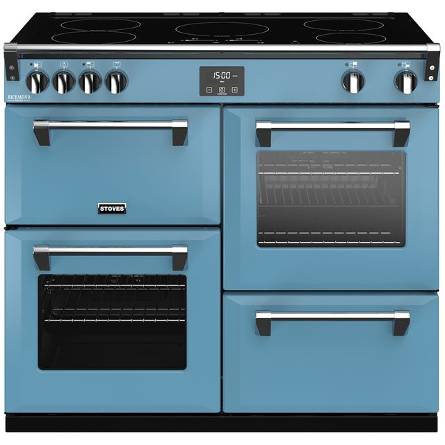 Stoves Colour Boutique Collection Richmond Deluxe S1000Ei CB 100cm Electric Range Cooker with Induction Hob - Days Break - A/A/A Rated - Richmond Deluxe S1000Ei CB_DB - 1