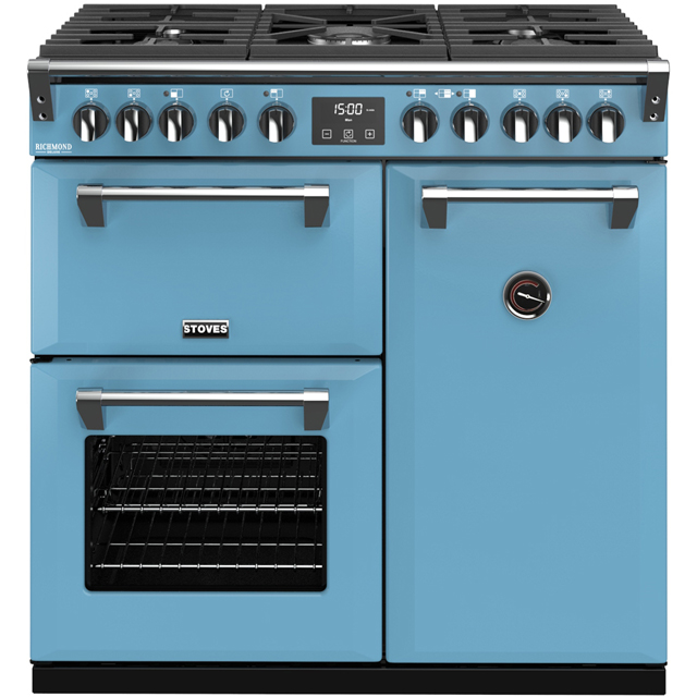 Stoves Colour Boutique Collection Richmond Deluxe S900DF CB 90cm Dual Fuel Range Cooker - Days Break - A/A/A Rated