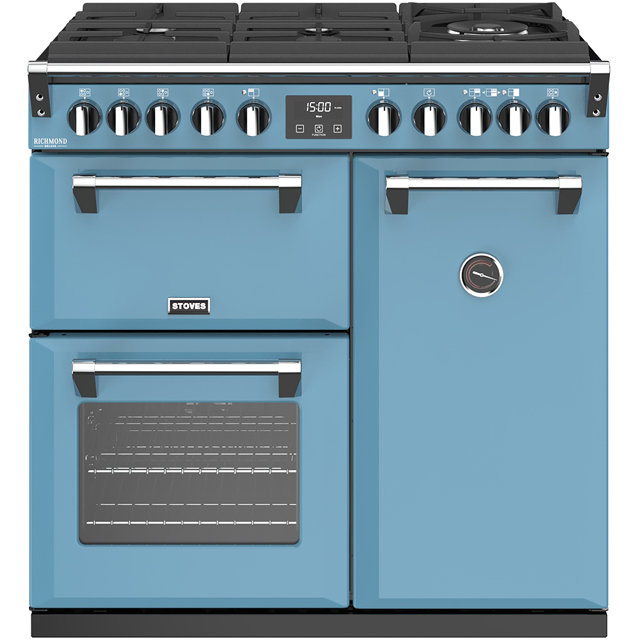Stoves Colour Boutique Collection Richmond Deluxe S900DF GTG CB 90cm Dual Fuel Range Cooker - Days Break - A/A/A Rated - Richmond Deluxe S900DF GTG CB_DB - 1