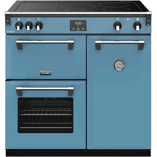 Stoves Colour Boutique Collection Richmond Deluxe S900Ei CB 90cm Electric Range Cooker with Induction Hob - Days Break - A/A/A Rated - Richmond Deluxe S900Ei CB_DB - 1