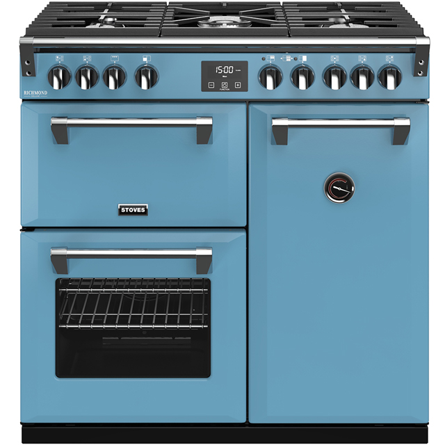 Stoves Colour Boutique Collection Richmond Deluxe S900G CB 90cm Gas Range Cooker - Days Break - A/A/A Rated - Richmond Deluxe S900G CB_DB - 1