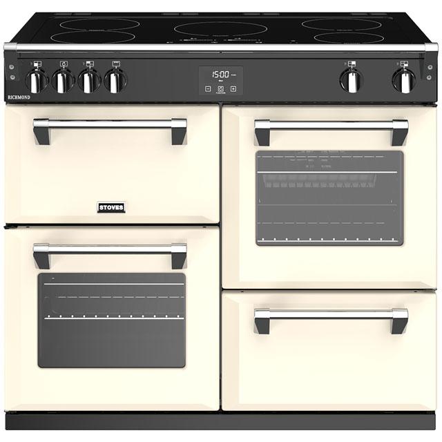 Stoves Sterling 1000Ei Induction Range Cooker-Instal/Del/Rec