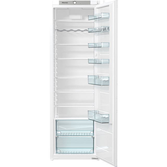 Hisense RIL391D4AW1 Integrated Upright Fridge - White - A+ Rated - RIL391D4AW1_WH - 1