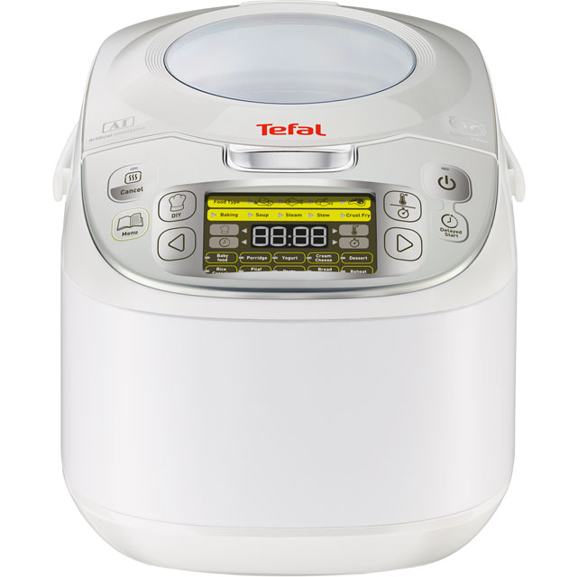 Tefal MultiCook Advanced 45 in 1 RK812142 Multi Cooker in White