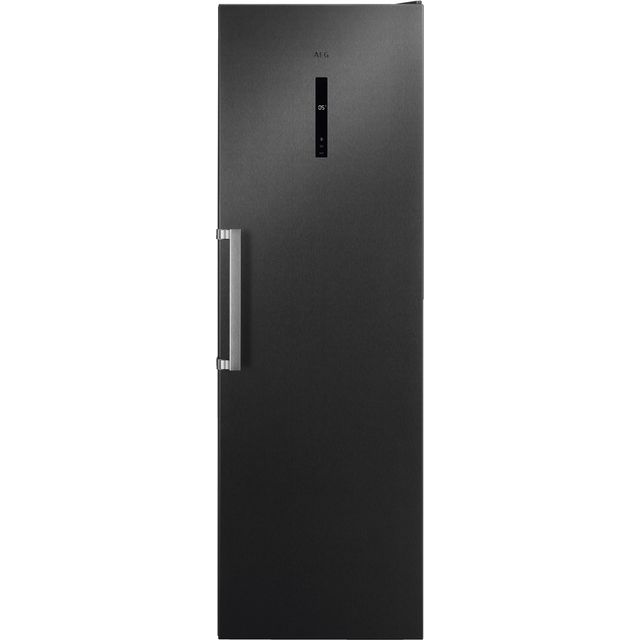 AEG RKB738E5MB Fridge - Black / Stainless Steel - A++ Rated
