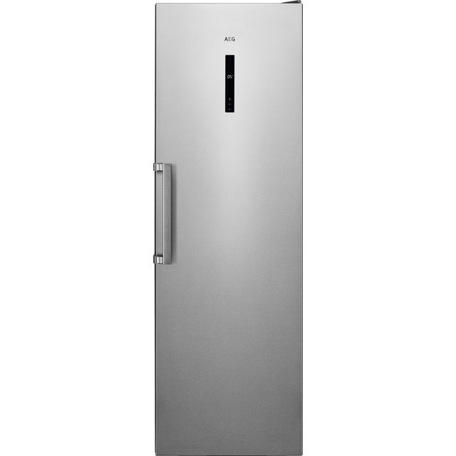 AEG RKB738E5MX Fridge - Silver - A++ Rated