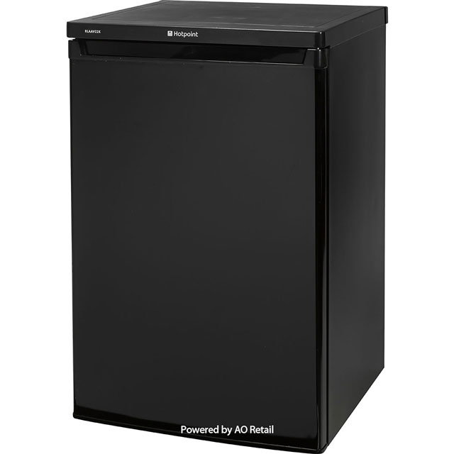 Hotpoint RLAAV22K.1 Fridge - Black - A+ Rated - RLAAV22K.1_BK - 1