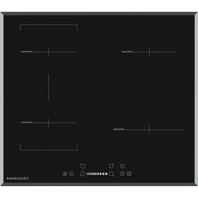 Rangemaster Eclipse RMB60HPEIBLGL Built In Induction Hob - Black - RMB60HPEIBLGL_BK - 1