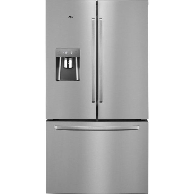 AEG RMB76311NX Free Standing American Fridge Freezer in Stainless Steel
