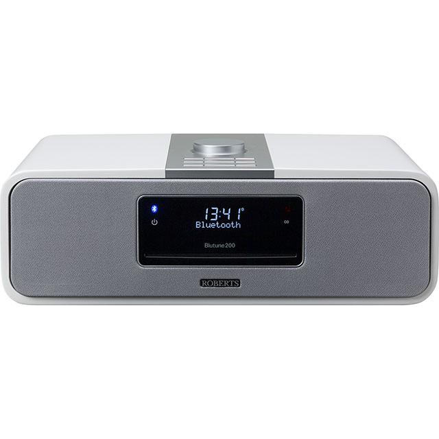 Roberts Radio Blutune200w DAB / DAB+ Digital Radio with FM Tuner - White