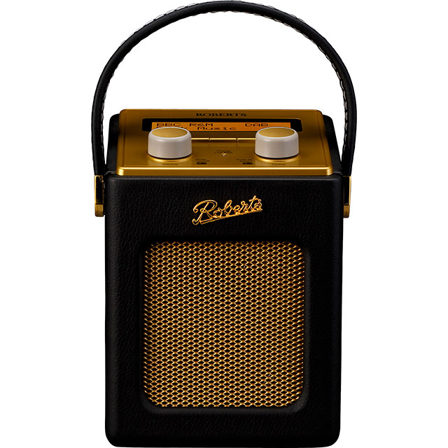 Roberts Radio Revival Mini REV-MINIBK DAB / DAB+ Digital Radio with FM Tuner