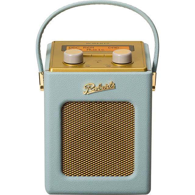 Roberts Radio Revival Mini REV-MINIDE DAB / DAB+ Digital Radio with FM Tuner - Duck Egg - REV-MINIDE - 1