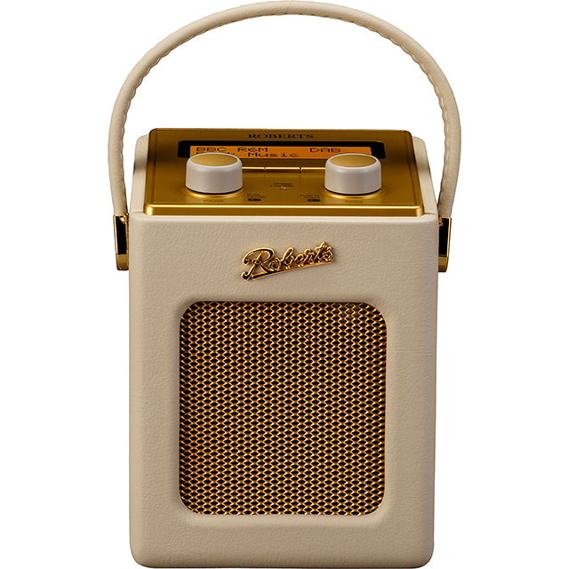 Roberts Radio Revival Mini REV-MINIPC DAB / DAB+ Digital Radio with FM Tuner - Pastel Cream - REV-MINIPC - 1
