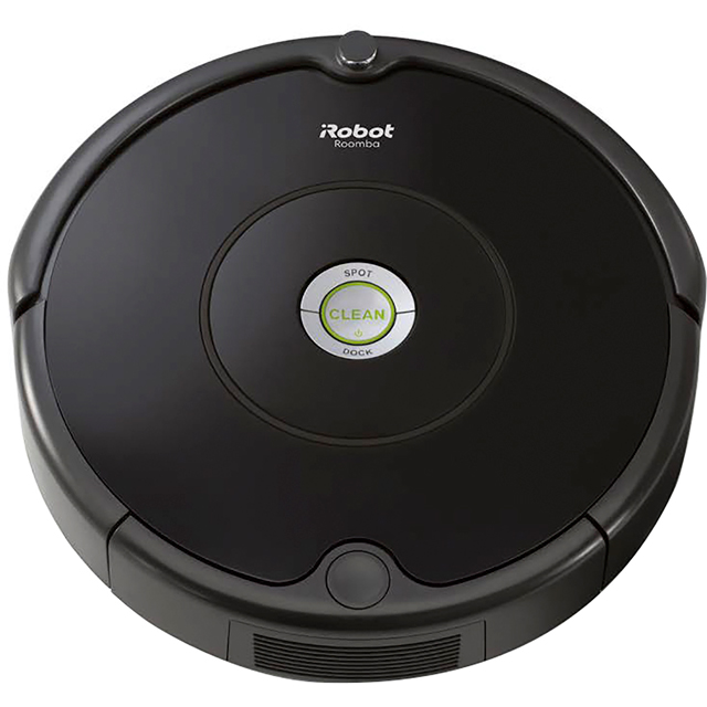 iRobot Roomba 606 Bagless Robotic Vacuum Cleaner - Black - Roomba 606_BK - 1