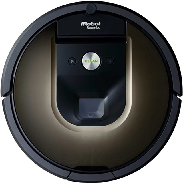 iRobot Roomba 980 Bagless Robotic Vacuum Cleaner - Black - Roomba 980_BK - 1