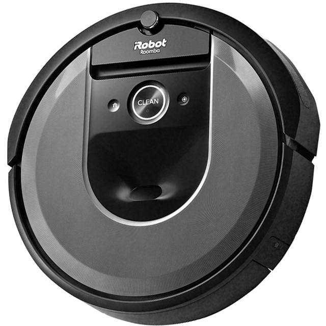 iRobot Roomba I7158 Bagless Robotic Vacuum Cleaner - Charcoal - Roomba I7158_CH - 1