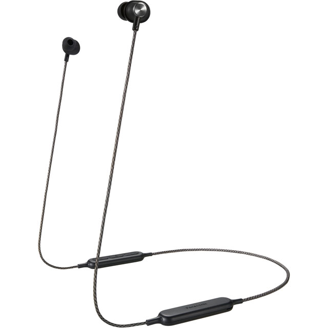 Panasonic Bluetooth In-ear Wireless Bluetooth Headphones - Black - RP-HTX20BE-K - 1