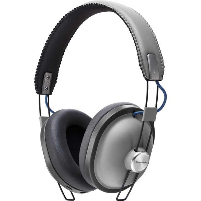 Panasonic Bluetooth Over-ear Wireless Bluetooth Headphones - Grey - RP-HTX80BE-H - 1