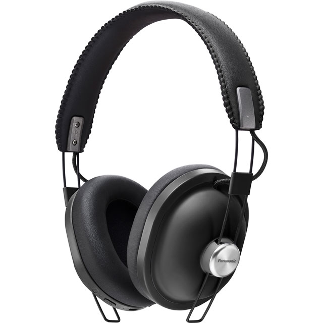 Panasonic Bluetooth Over-ear Wireless Bluetooth Headphones - Black - RP-HTX80BE-K - 1
