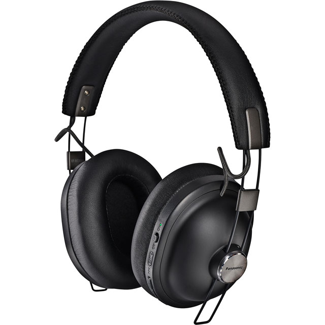 Panasonic Noise Cancelling Bluetooth Over-ear Wireless Bluetooth Headphones - Black - RP-HTX90NE-K - 1