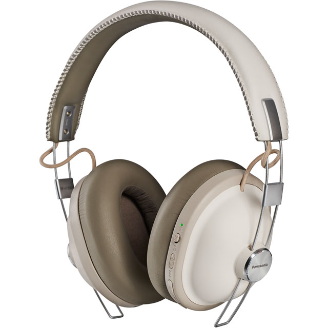Panasonic Noise Cancelling Bluetooth Over-ear Wireless Bluetooth Headphones - White - RP-HTX90NE-W - 1
