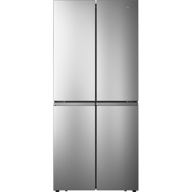 Hisense RQ563N4AI1 American Fridge Freezer - Stainless Steel - A+ Rated