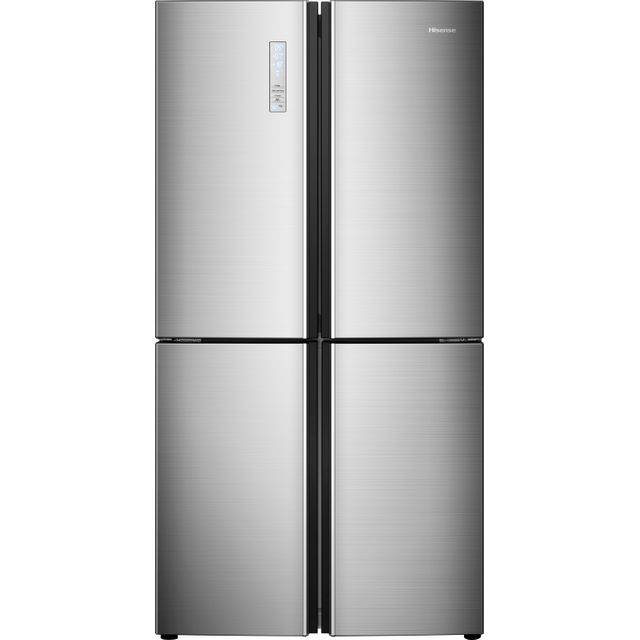 Hisense RQ689N4AC1 American Fridge Freezer - Stainless Steel Effect - RQ689N4AC1_SSL - 1