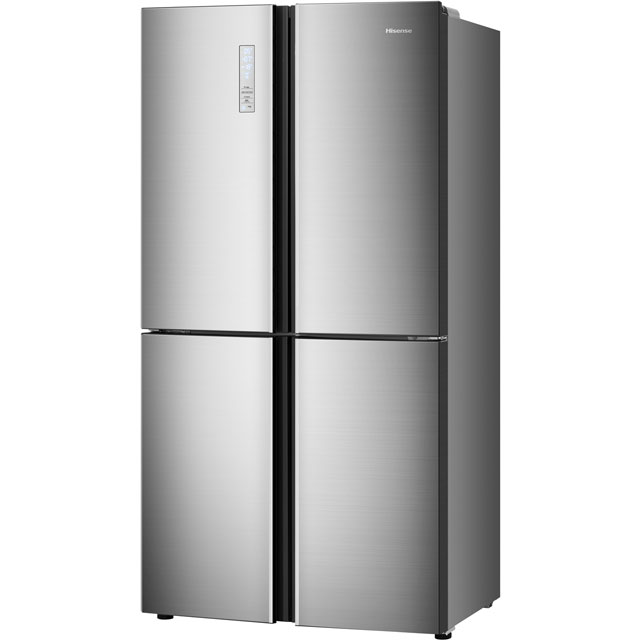 Hisense RQ689N4AC1 American Fridge Freezer - Stainless Steel Effect - RQ689N4AC1_SSL - 4