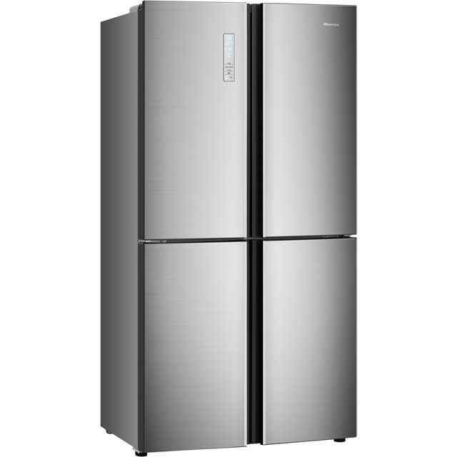 Hisense RQ689N4AC1 American Fridge Freezer - Stainless Steel Effect - RQ689N4AC1_SSL - 5