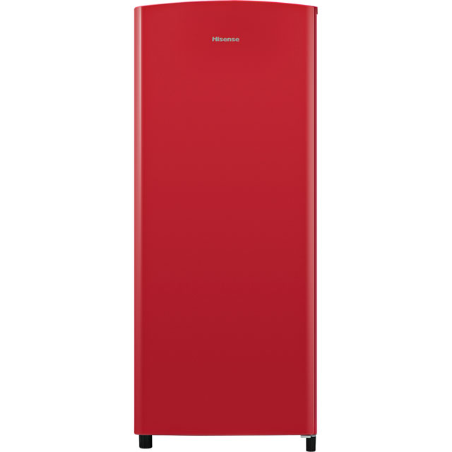 Hisense RR220D4AR2 Fridge - Red - A++ Rated