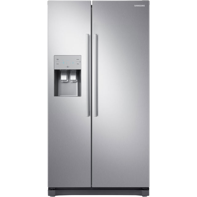 Samsung RS3000 RS50N3513SL American Fridge Freezer - Clean Steel - A+ Rated