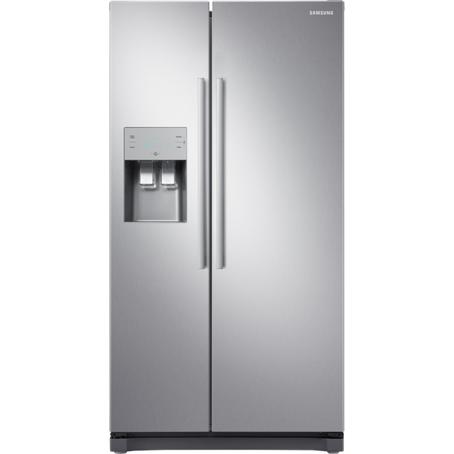 Samsung RS3000 American Fridge Freezer - Clean Steel - A+ Rated