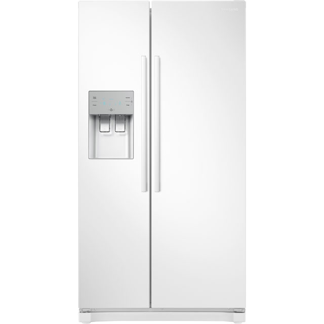 Samsung RS3000 RS50N3513WW American Fridge Freezer - White - A+ Rated - RS50N3513WW_WH - 1