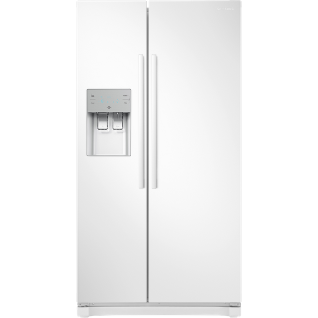 Samsung RS3000 RS50N3513WW American Fridge Freezer - White - A+ Rated