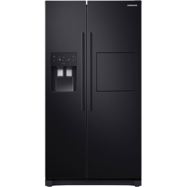 Samsung RS3000 RS50N3913BC American Fridge Freezer - Black - A+ Rated