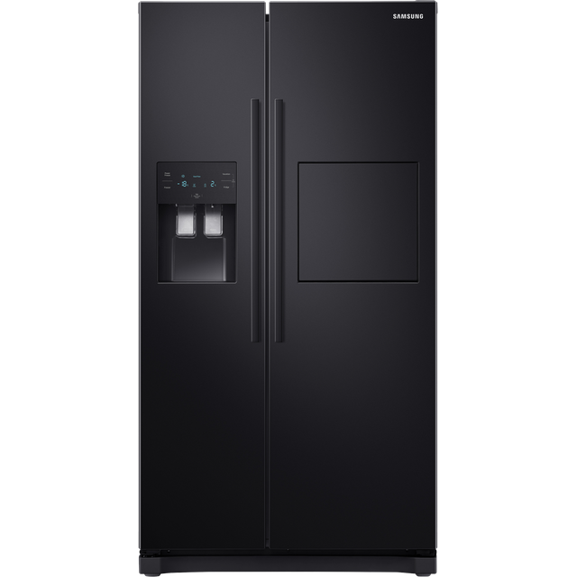 Samsung RS3000 RS50N3913BC American Fridge Freezer - Black - A+ Rated Best Price, Cheapest Prices