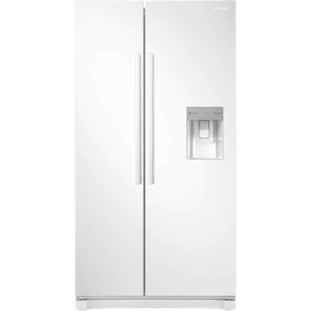 Samsung RS3000 RS52N3313WW American Fridge Freezer - White - A+ Rated