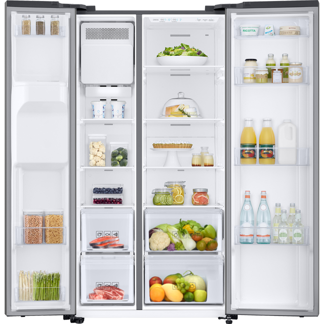Samsung RS8000 RS67N8210S9 American Fridge Freezer - Matte Stainless Steel - RS67N8210S9_SS - 5